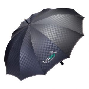 Turnkey Promotions Umbrellas wet weather branding opportunity