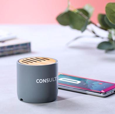 Bamboo Limestone Bluetooth Speaker